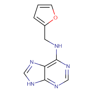 6-Furfurylaminopurine,CAS No. 525-79-1.
