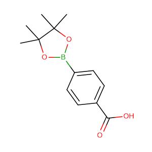 4-(4,4,5,5-tetramethyl-[1,3,2]dioxaborolan-2-yl)-benzoic acid,CAS No. 180516-87-4.