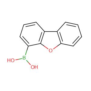 DIBENZOFURAN-4-BORONIC ACID,CAS No. 100124-06-9.