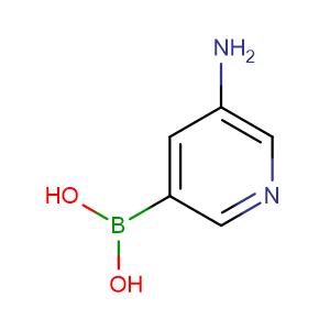 5-aminopyridin-3-ylboronic acid,CAS No. 1169748-84-8.