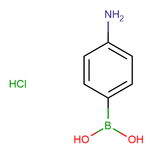 4-AMINOPHENYLBORONIC ACID HYDROCHLORIDE,CAS No. 80460-73-7.