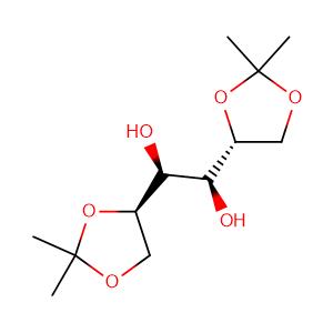 (+)-1,2:5,6-di-O-isopropylidene-D-mannitol,CAS No. 1707-77-3.