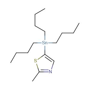 2-methyl-5-(tributylstannyl)thiazole,CAS No. 223418-75-5.