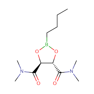 (4S,5S)-2-Butyl-1,3,2-dioxaborolane-4,5-dicarboxylic acid bis-dimethylamide,CAS No. 161344-84-9.