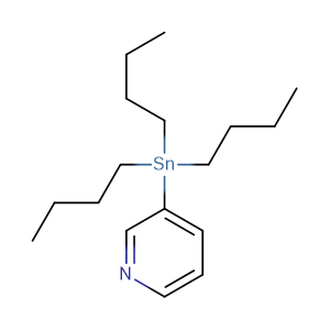 3-Tributylstannylpyridine; 3-(Tributylstannyl)pyridine,CAS No. 59020-10-9.