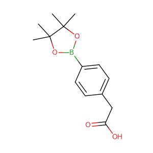 2-(4-(4,4,5,5-Tetramethyl-1,3,2-dioxaborolan-2-yl)phenyl)acetic acid,CAS No. 797755-07-8.