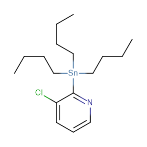3-Chloro-2-(tributylstannyl)pyridine,CAS No. 206357-78-0.