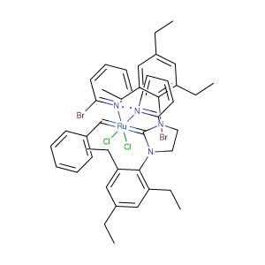 [1,3-Bis(2,4,6-trimethylphenyl)-2-imidazolidinylidene]dichloro(benzylidene)bis(3-bromopyridine)ruthenium(II),CAS No. 900169-53-1.