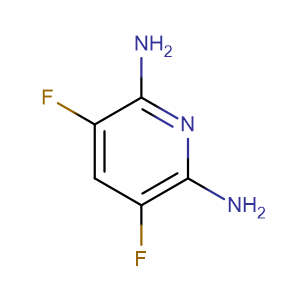 2,6-Diamino-3,5-difluoropyridine,CAS No. 247069-27-8.