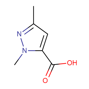 1,3-Dimethyl-1H-pyrazole-5-carboxylic acid,CAS No. 5744-56-9.
