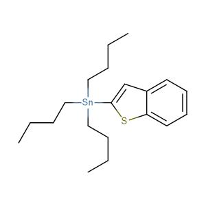 Benzo[b]thiophen-2-yltributyl-stannane;2-Tributylstannylbenzo[b]thiophene,CAS No. 148961-88-0.