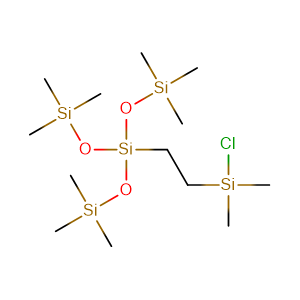 Tris(trimethylsilyloxy)silylethyl]dimethylchlorosilane,CAS No. 225794-57-0.
