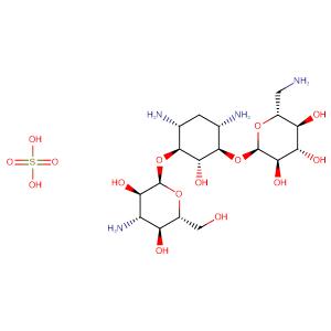 Kanamycin Mono Sulphate(Bulk),CAS No. 25389-94-0.
