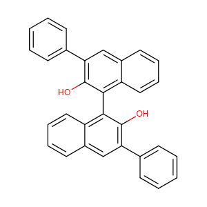[1,1'-Binaphthalene]-2,2'-diol, 3,3'-diphenyl-, (1R)-,CAS No. 75684-93-4.