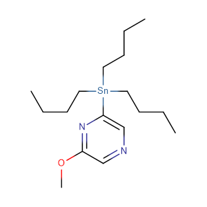 2-Methoxy-6-(tributylstannyl)pyrazine,CAS No. 1105511-66-7.