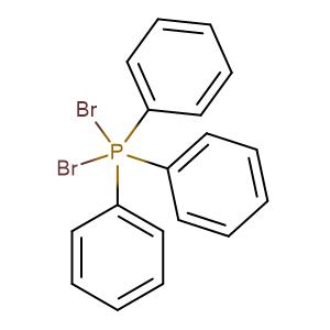 Phosphorane,dibromotriphenyl-,CAS No. 1034-39-5.