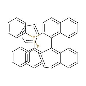 (S)-(-)-2,2'-Bis(diphenylphosphino)-1,1'-binaphthyl,CAS No. 76189-56-5.