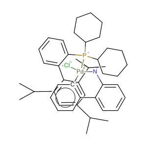 Chloro(2-dicyclohexylphosphino-2',4',6'-triisopropyl-1,1'-biphenyl)[2-(2'-amino-1,1'-biphenyl)]palladium(II),CAS No. 1310584-14-5.