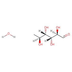 L(+)-Rhamnose monohydrate,CAS No. 10030-85-0.
