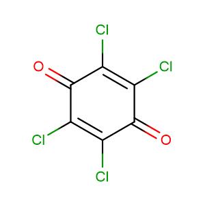 Tetrachloroquinone,CAS No. 118-75-2.