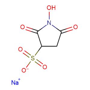 N-Hydroxy sulfo succinimide sodium salt,CAS No. 106627-54-7.