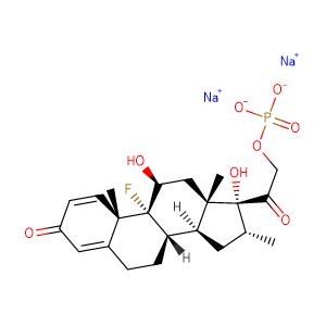 Dexamethasone Phosphate Sodium,CAS No. 2392-39-4.