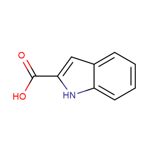 1H-indole-2-carboxylic acid,CAS No. 1477-50-5.
