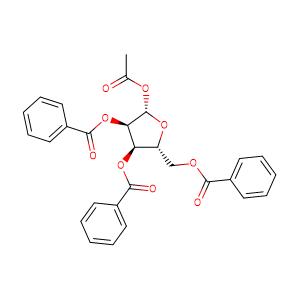 1-O-Acetyl-2,3,5-tri-O-benzoyl-D-ribofuranose,CAS No. 6974-32-9.