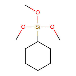 cyclohexyl-trimethoxy-silane,CAS No. 17865-54-2.