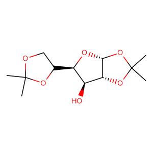 (-)-diacetone-α-D-glucose,CAS No. 582-52-5.
