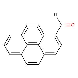 Pyrene-1-carbaldehyde,CAS No. 3029-19-4.