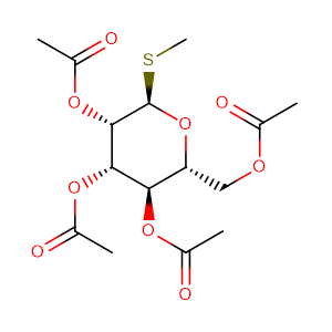 methyl 2,3,4,6-tetra-O-acetyl-1-thio-α-D-mannopyranoside,CAS No. 64550-71-6.