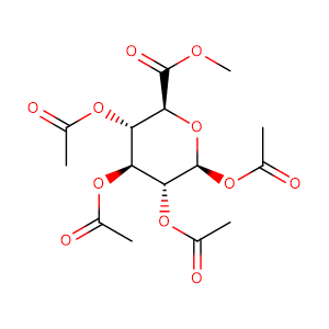 1,2,3,4-tetra-O-acetyl-β-D-pyranouronic acid methyl ester,CAS No. 7355-18-2.