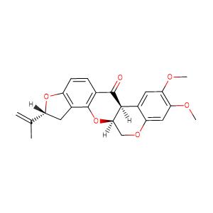 rotenone,CAS No. 83-79-4.