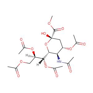methyl 5-acetamido-4,7,8,9-tetra-OAc-3,5-dideoxy-β-D-glycero-D-galacto-2-nonulopyranosylonate,CAS No. 84380-10-9.