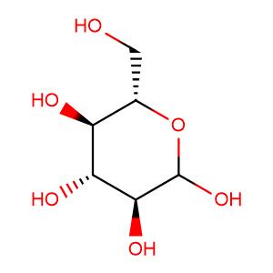 α-L-glucose,CAS No. 921-60-8.