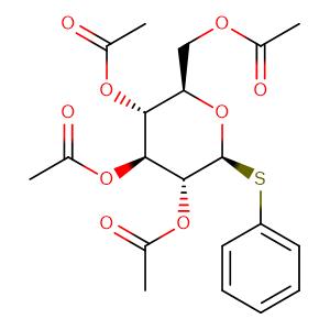 Phenyl 2,3,4,6-O-Tetraacetyl-1-thio-β-D-glucopyranoside,CAS No. 23661-28-1.