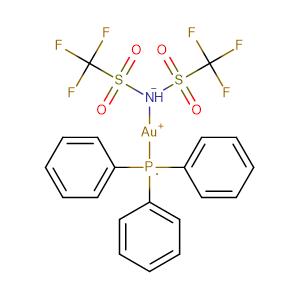 [Au(NTf)2(PPh3)],CAS No. 866395-16-6.