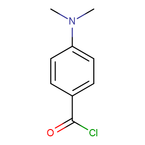 4-Dimethylaminobenzoyl chloride,CAS No. 4755-50-4.