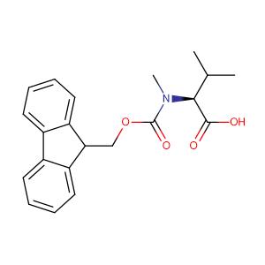 N-Fmoc-N-methyl-L-valine,CAS No. 84000-11-3.