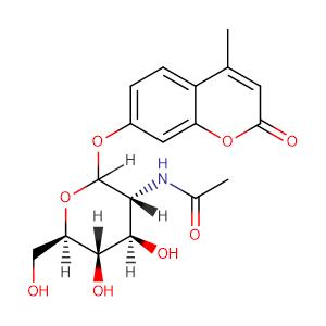 4-Methylumbellifery-2-acetamido-2-deoxy-β-D-glucopyranoside,CAS No. 37067-30-4.