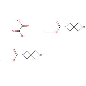 2,6-Diazaspiro[3.3]heptane-2-carboxylic acid, 1,1-dimethylethyl ester, ethanedioate (2:1),CAS No. 1041026-71-4.