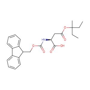 Fmoc-Asp(OMpe)-OH,CAS No. 180675-08-5.
