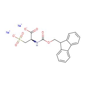 Fmoc-L-cysteic acid · disodium salt,CAS No. 320384-09-6.