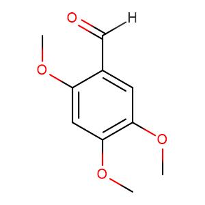 2,4,5-Trimethoxybenzaldehyde,CAS No. 4460-86-0.