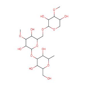 D-Galacto-L-arabinan,CAS No. 9036-66-2.