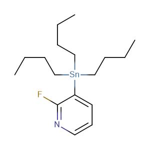 2-Fluoro-3-(tributylstannyl)pyridine,CAS No. 155533-81-6.