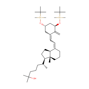 (R)-6-((1R,3aS,7aR,E)-4-((Z)-2-((3R,5S)-3,5-bis((tert-butyldimethylsilyl)oxy)-2-methylenecyclohexylidene)ethylidene)-7a-methyloctahydro-1H-inden-1-yl)-2-methylheptan-2-ol,CAS No. 140710-96-9.