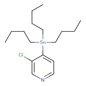 3-Chloro-4-(tributylstannyl)-pyridine,CAS No. 444989-46-2.