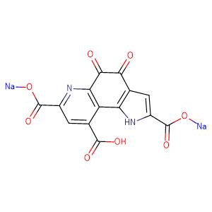 PYRROLOQUINOLINE QUINONE DISODIUM SALT,CAS No. 122628-50-6.